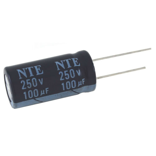 NTE Electronics VHT1000M10 CAPACITOR HIGH TEMP ALUMINUM ELECTROLYTIC RADIAL LEAD