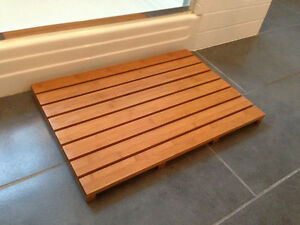 Elegant Image Is Loading Bamboo Bath Mat Spa Sauna Floor Mat Non