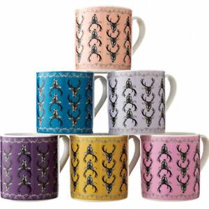 Stag Head China Coffee Mug