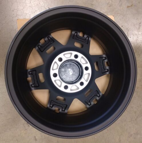 "4Runner 17/"" Black TRD Pro SEMA Wheel Toyota Tacoma /& FJ Cruiser 17X7  6 Lug,"