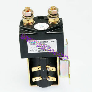 Heavy-Duty-Contactor-Solenoid-Replace-Albright-SW200A-Style-72V-200A