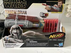 Star Wars The Mandalorian Rocket Gauntlet Nerf Dart Launcher In Stock 630509920204 Ebay