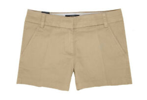 Elasticizzato Khaki 5 Pantaloni Miele Donna J 30 crew 2cm Marrone 10 Cotone Ftx4qv8xw
