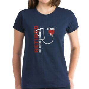 CafePress-Retired-Nurse-Heart-T-Shirt-Women-039-s-Cotton-T-Shirt-1746647024