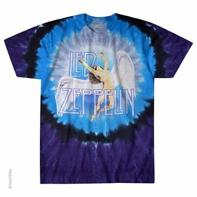 Led Zeppelin In Concert M L XL 2XL Tie Dye T-Shirt