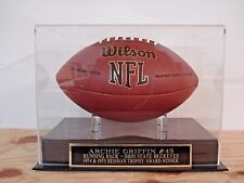 Football Display Case For An Archie Griffin Ohio State Buckeyes Signed Football