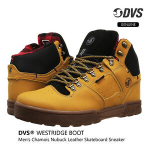 DVS-SHOES-WESTRIDGE-Chamois-Nubuck-Leather-Boot-Lace-Up-High-Cut-Fashion-Sneaker