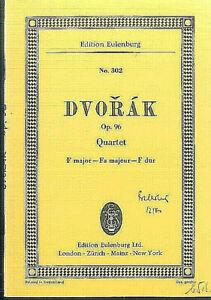 DVORAK-String-Quartet-F-Dur-Op-96-Studienpartitur