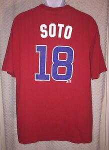 Giovanni-Soto-Chicago-Cubs-Jersey-T-Shirt-Size-XL-by-MLB-Genuine-Merchandise