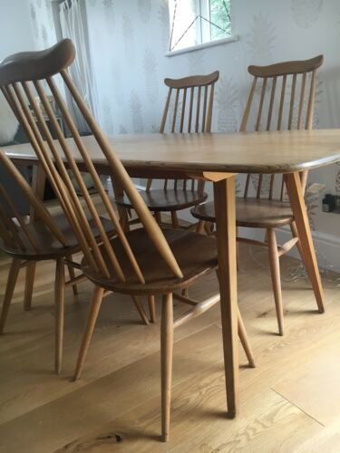 Ercol Dining Chairs Original Goldsmith Dininng Chairs