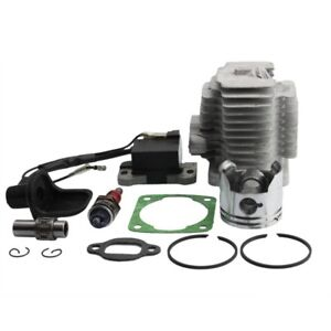 Kit-Cylindre-Piston-Joint-Pocket-bike-bobine-d-039-allumage-et-bougie