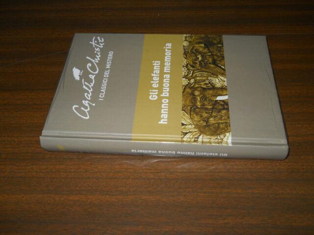 RBA AGATHA CHRISTIE I CLASSICI DEL MISTERO n.58 GLI ELEFANTI HANNO BUONA MEMORIA