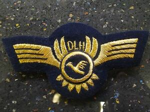 Details about Vintage Lufthansa Cap Badge, Airline Pilot Wing Germany Nice,  Older