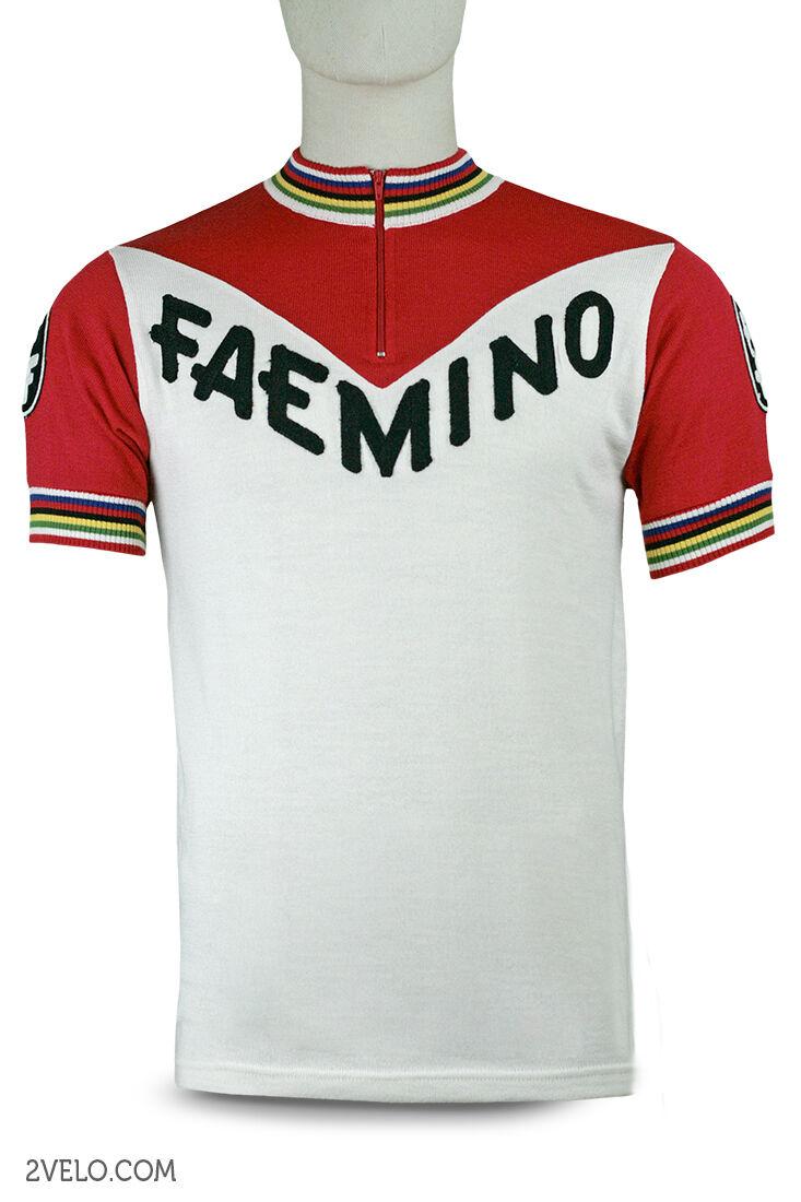 FAEMINO vintage wool jersey, new, never worn S