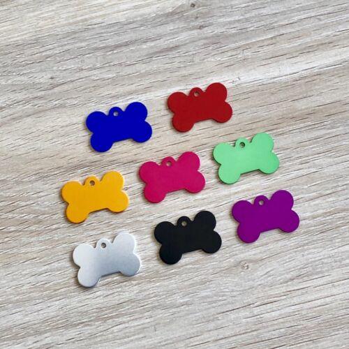 $2.80!! Pet ID Tag BONE Shape Tag Dog ID Tag SUPERB Quality FREE Engraving!