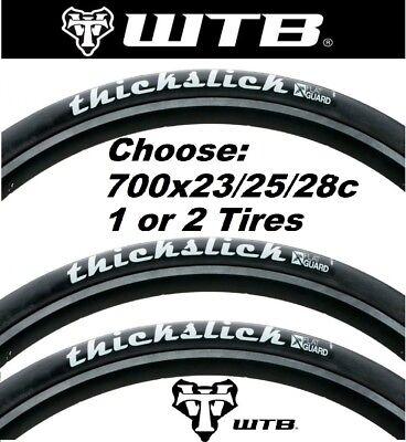 Wtb ThickSlick Flat Guard Tire Wtb Thickslick 700x25 Flat Guard Wire