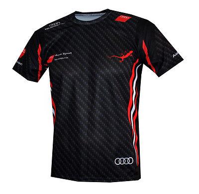 Audi Sport Quattro Gecko T Shirt Outdoor Camiseta Reisen MagliettaS Line | eBay