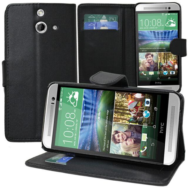 new concept bb801 f87a5 Cases for HTC One (E8)/ (E8) Ace / (E8) Dual Phone Briefcase Flip Case