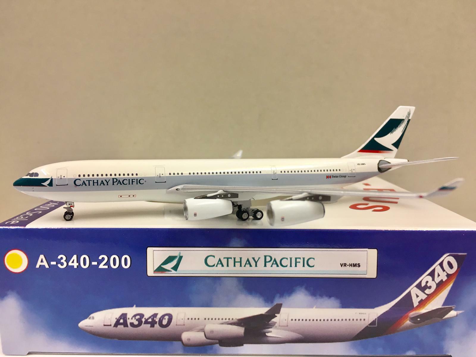 Aeroclassics 1 400 Cathay Pacific A340-200 VR-HMS