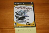 R-type Final (ps2 Playstation) Sealed Black Label W/upc, Mint & Rare