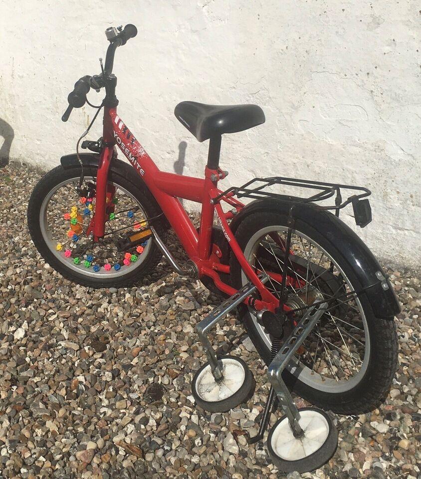 Unisex børnecykel, classic cykel, Yosemite
