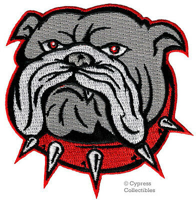 ENGLISH BULLDOG iron-on PATCH