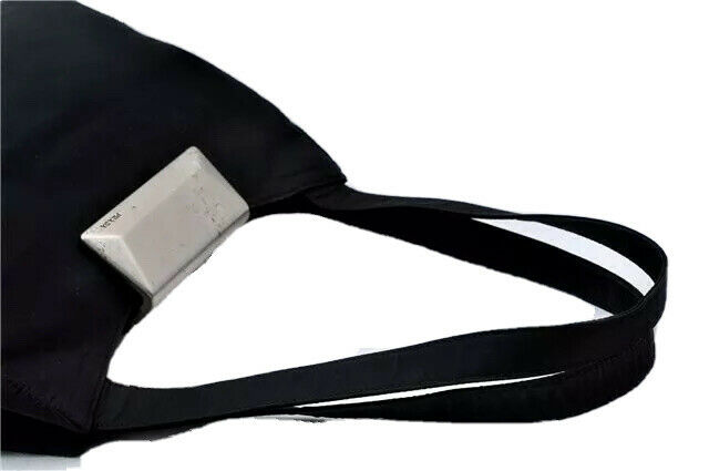 Prada Bag Handbag Nylon Purse Flap Shoulder Tessu… - image 8