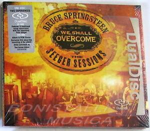BRUCE-SPRINGSTEEN-WE-SHALL-OVERCOME-CD-DVD-Dual-Disc-Sigillato