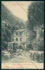 Como Argegno Ponte Vecchio cartolina EE7888