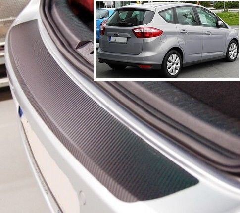 Carbon Style rear Bumper Protector Ford C-Max MK2