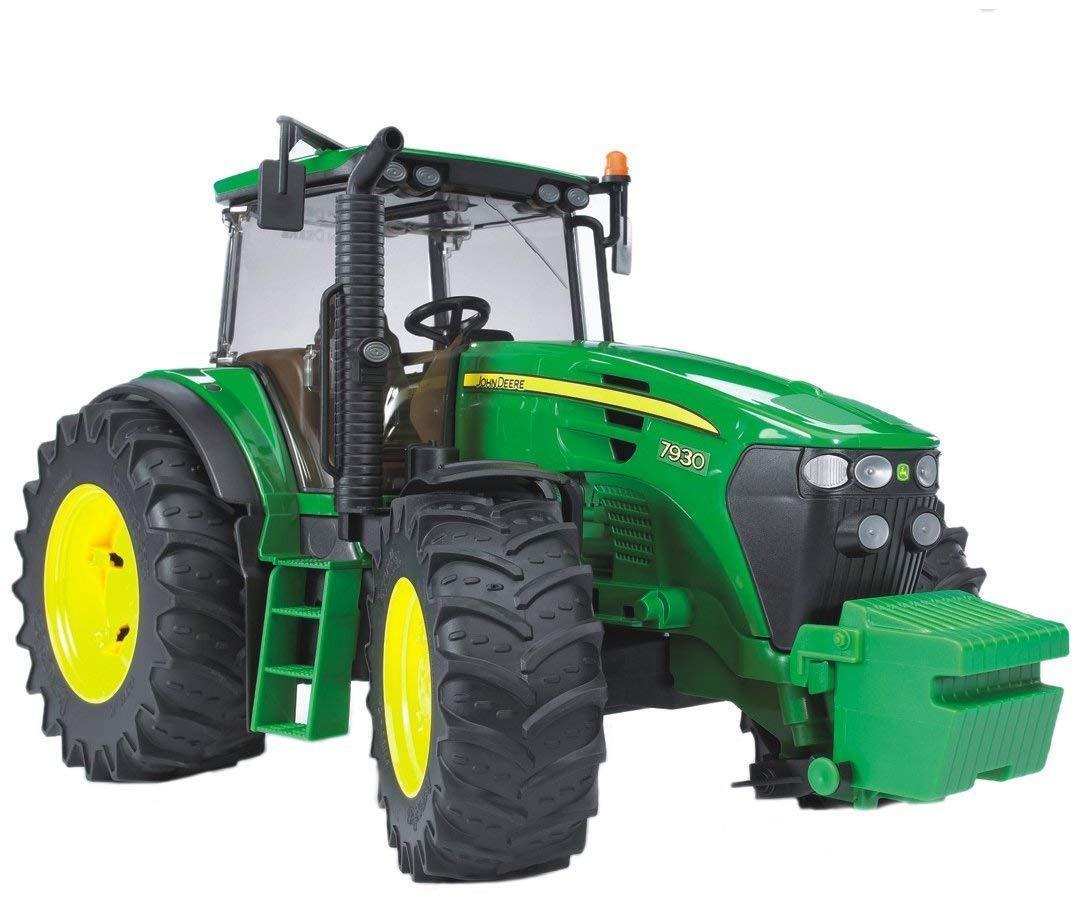BRUDER JOHN DEERE 7930 TRACTOR Toy Model Pro Series Large 1 16 Scale 03050 Kids