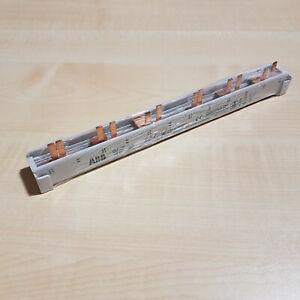 Endkappen ablängbar ABB PS4//12NA Phasenschiene 4Ph.,12Pins,10qmm
