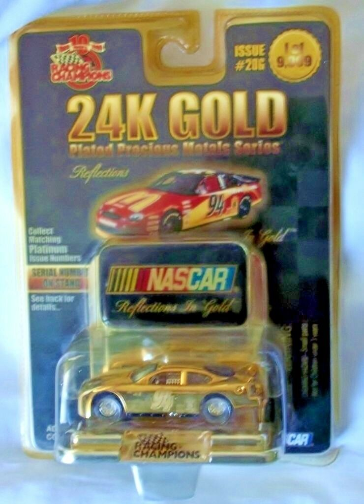 Racing Champions Bill Elliott McDonald 24K gold Plated 1 64 1 of 9,999 Ford