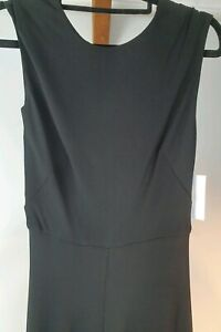 Lisa-Ho-Long-Black-Evening-Dress-Sz-6