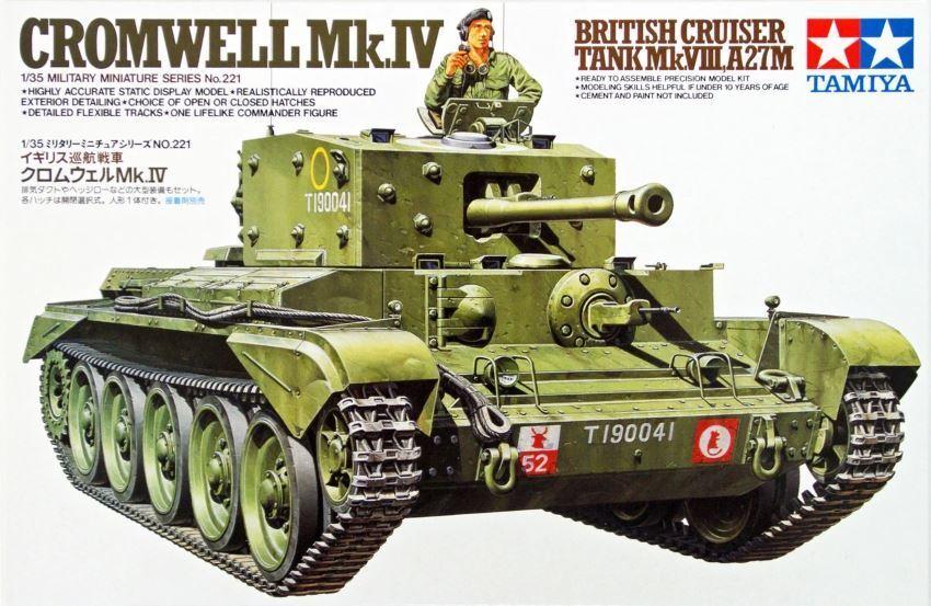 Tamiya Cromwell Mk. IV Tank 1 35 Scale Kit