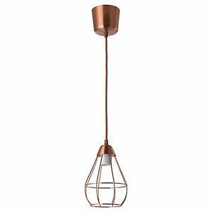 ikea lighting pendant. Image Is Loading IKEA-SLATTBO-Retro-Vintage-Style-Copper-Colour-Light- Ikea Lighting Pendant P