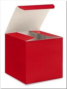 Gloss-RED-Chipboard-Gift-Packaging-Box-Choose-Size-and-Package-Amount