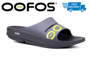 b60546b0b Image is loading OOFOS-OOAHH-SPORT-Slide-Sandals-Recovery-Thong-Footwear-