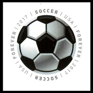 US-5205-Have-a-Ball-Soccer-forever-single-1-stamp-MNH-2017