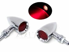 RED Motorcycle LED Stop Running Turn Signal Tail Lights Sand Rail Dune Buggy Car