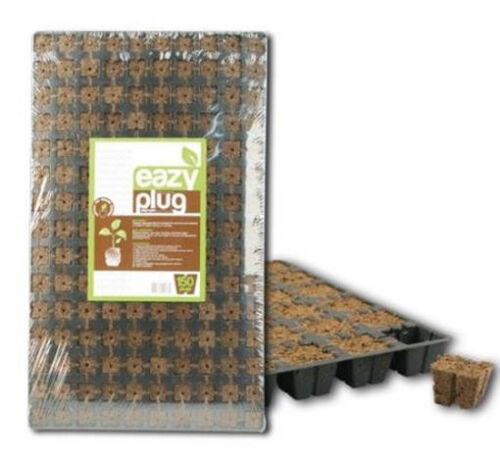 Eazy Plug® Anzuchtwürfel 23 x 23 x 28mm Tablett á 150 Stk Grow Stecktray Anzucht