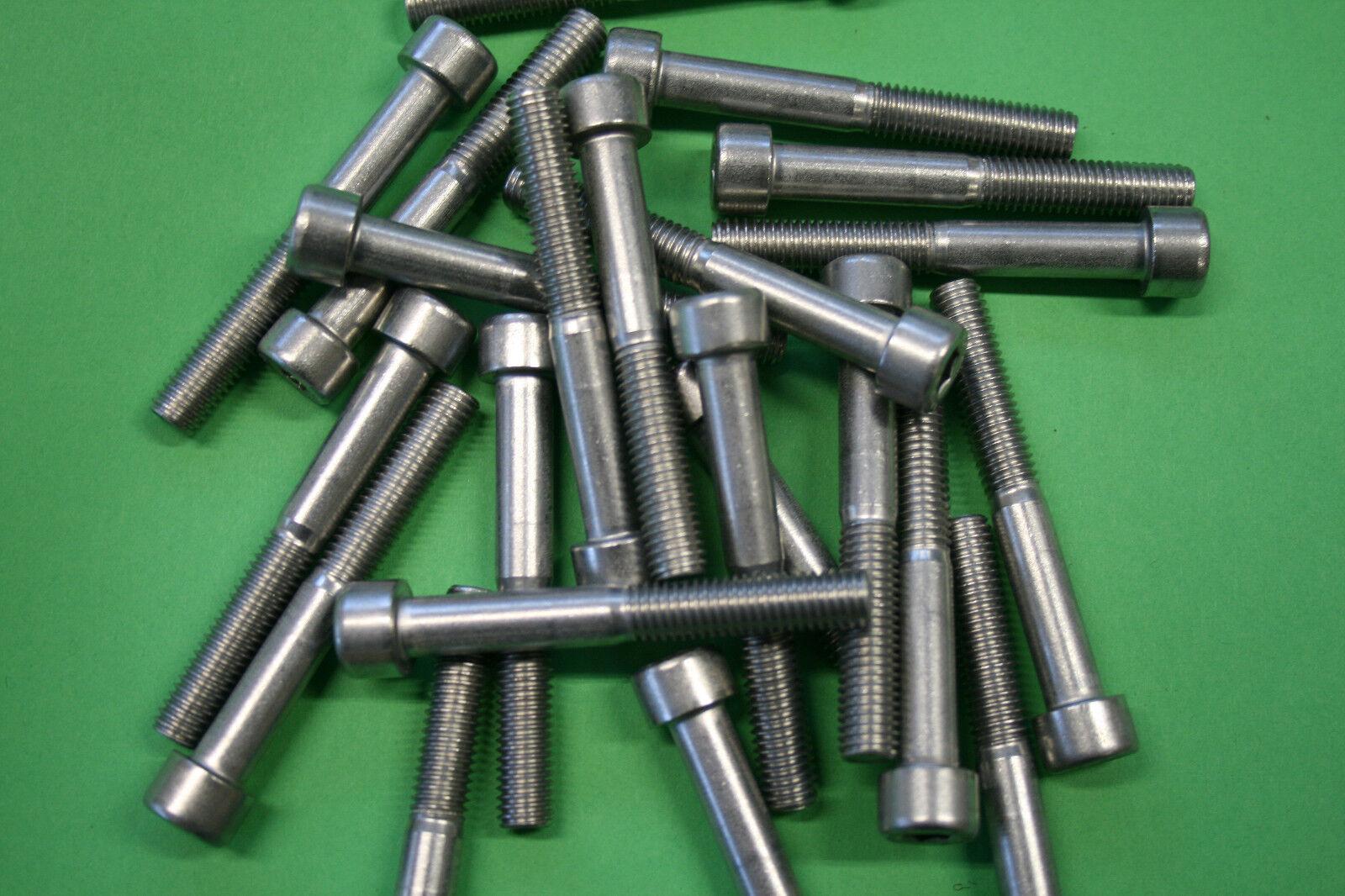 Gewindeschraube, Zylinderschrauben, M6 ,10-100mm, DIN 912 ,Edelstahl A2 V2A