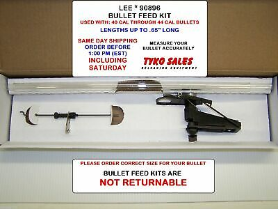 LEE PRECISION 90896 Pro 1000 Load-Master Progressive Press Bullet Feeder...