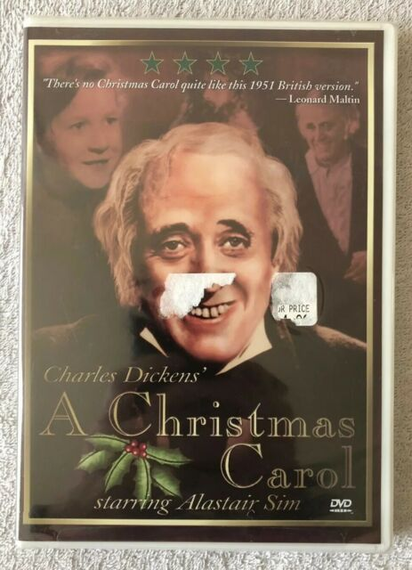 NEW!! A Christmas Carol Starring Alastair Sim (DVD, 1999) | eBay