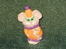 Hallmark Merry Miniature 1992 Clown Mouse - Halloween - NEW