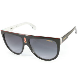 4cac78206713 Carrera Flagtop 80S 9O Polished Black on White/Grey Gradient Women's ...