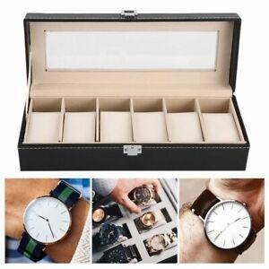 12-6-2-Grid-Slots-Jewelry-Watches-Display-Storage-Box-Case-Aluminium-Square-Ui