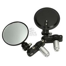 """7/8"""" Bar End Rear View Mirrors Fit Ducati Monster 620 696 750 796 900 1000 1100"""