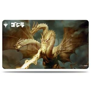 King of the Cosmos Ghidora Ikoria PLAY MAT PLAYMAT ULTRA PRO FOR MTG CARDS