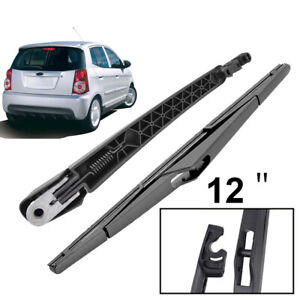 Rear-Windshield-Wiper-Blade-Arm-Set-For-Kia-Picanto-Morning-MK1-2004-2010